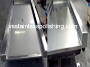 Stainless steel polishing stainless steel tray photos.